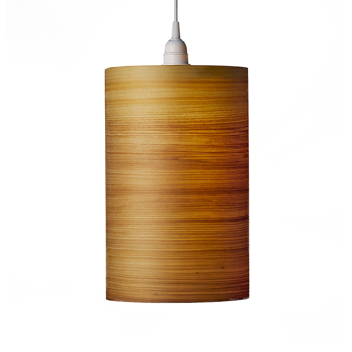 Single Drum Shade Pendant Lighting